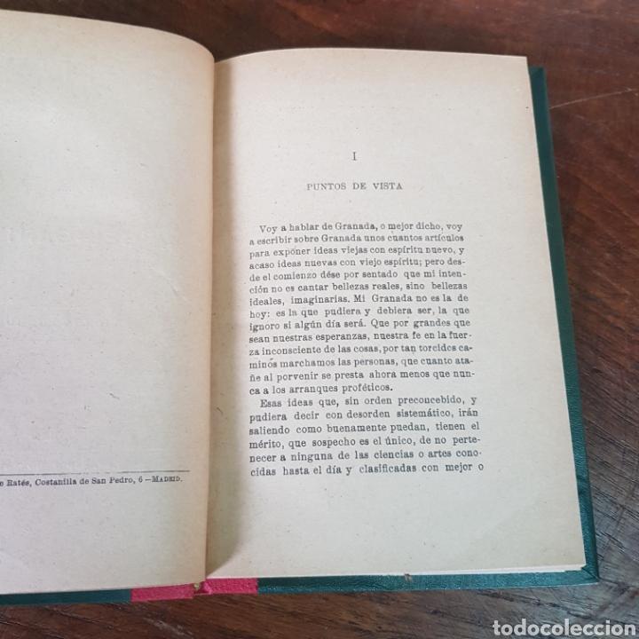 Libros antiguos: GRANADA LA BELLA 1920 ANGEL GANIVET - Foto 2 - 257403580