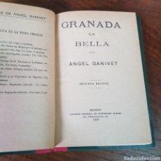 Libros antiguos: GRANADA LA BELLA 1920 ANGEL GANIVET. Lote 257403580