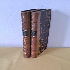Libros antiguos: LAURENCE STERNE - TRISTAM SHANDY ET LE VOYAGE SENTIMENTAL ( 2 TOMOS) - PARIA 1877. Lote 257483690
