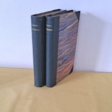 Libros antiguos: COMTE LEON TOLSTOI - POLIKOUCHKA Y LES COSAQUES (2 LIBROS) - PARIS 1886. Lote 257486290