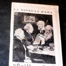 Livres anciens: GUILLERMINA - ROGER DE VILAGAIA - LA NOVEL.LA D'ARA - NÚM 163 - AÑ0 1926 - PARA ESTRENAR. Lote 257520595