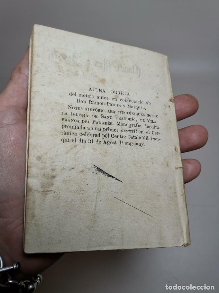 Libros antiguos: CLAUDI MAS I FORNET-GARGOTS-APLEG DE RATLLES CURTES VILAFRANCA PENEDES-1893-REF-MO - Foto 4 - 257533915
