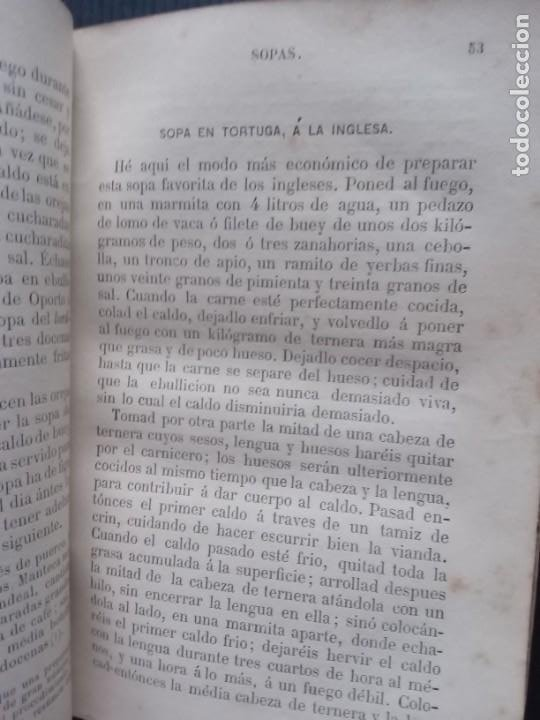 Libros antiguos: El cocinero Europeo.Garnier hermanos 1880. - Foto 3 - 257596585