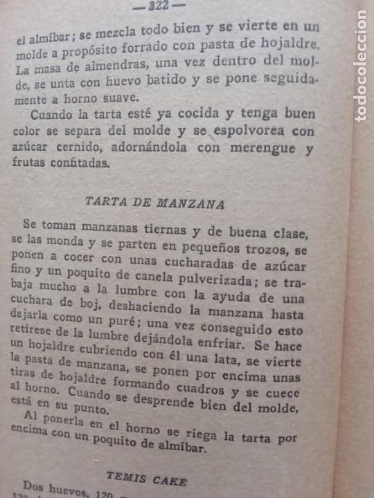 Libros antiguos: RAMILLETE DEL AMA DE CASA. CONTIENE FÓRMULAS DE COCINA Y REPOSTERÍA.(1934) - Foto 5 - 257596940