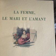 Libros antiguos: KOCK, PAUL DE. LA FEMME, LE MARI ET L'AMANT. EDITIONS D'ART PIAZZA, 1929. Lote 257623655