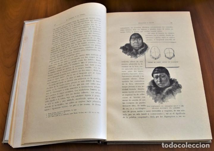 Libros antiguos: EL HOMBRE Y LA TIERRA - ELISEO RECLUS - CASA EDITORIAL MAUCCI, BARCELONA - 6 TOMOS COMPLETA - Foto 5 - 257650475