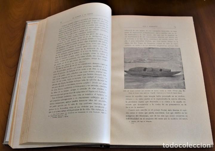 Libros antiguos: EL HOMBRE Y LA TIERRA - ELISEO RECLUS - CASA EDITORIAL MAUCCI, BARCELONA - 6 TOMOS COMPLETA - Foto 6 - 257650475