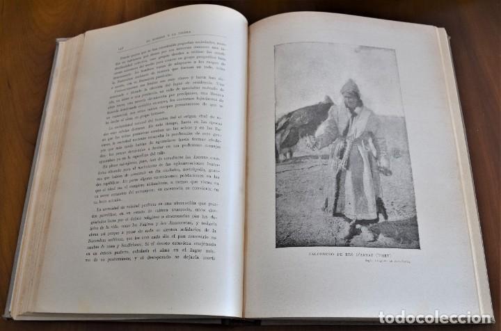 Libros antiguos: EL HOMBRE Y LA TIERRA - ELISEO RECLUS - CASA EDITORIAL MAUCCI, BARCELONA - 6 TOMOS COMPLETA - Foto 7 - 257650475