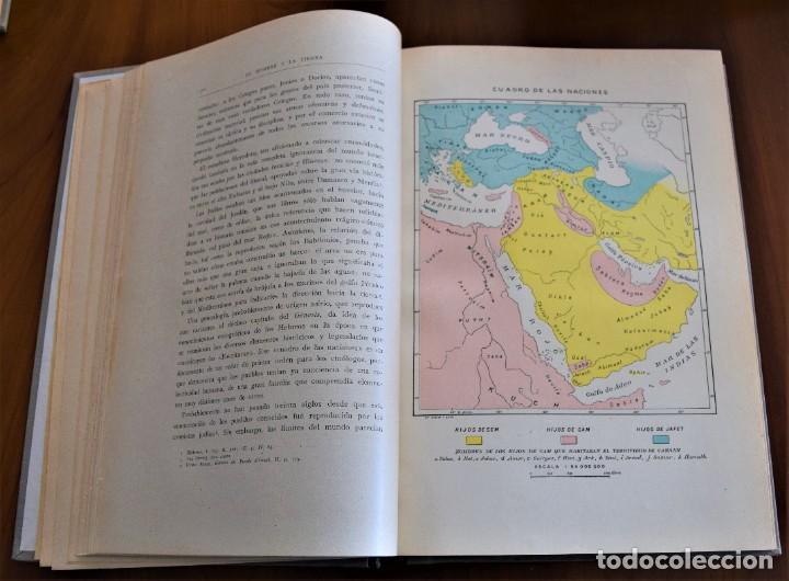 Libros antiguos: EL HOMBRE Y LA TIERRA - ELISEO RECLUS - CASA EDITORIAL MAUCCI, BARCELONA - 6 TOMOS COMPLETA - Foto 11 - 257650475