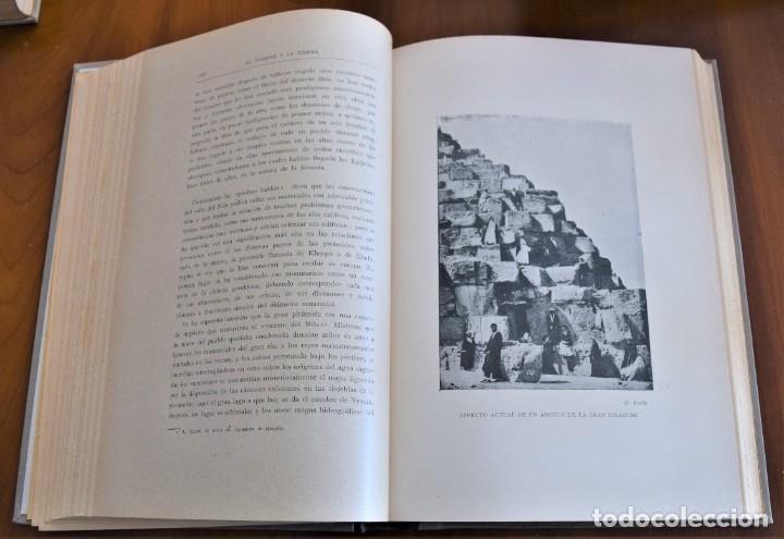 Libros antiguos: EL HOMBRE Y LA TIERRA - ELISEO RECLUS - CASA EDITORIAL MAUCCI, BARCELONA - 6 TOMOS COMPLETA - Foto 12 - 257650475