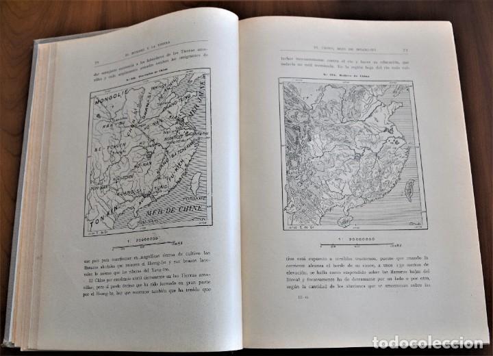 Libros antiguos: EL HOMBRE Y LA TIERRA - ELISEO RECLUS - CASA EDITORIAL MAUCCI, BARCELONA - 6 TOMOS COMPLETA - Foto 15 - 257650475