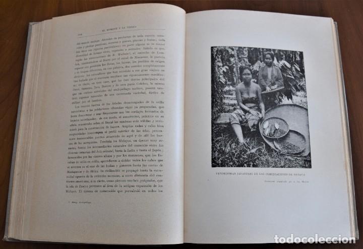 Libros antiguos: EL HOMBRE Y LA TIERRA - ELISEO RECLUS - CASA EDITORIAL MAUCCI, BARCELONA - 6 TOMOS COMPLETA - Foto 16 - 257650475