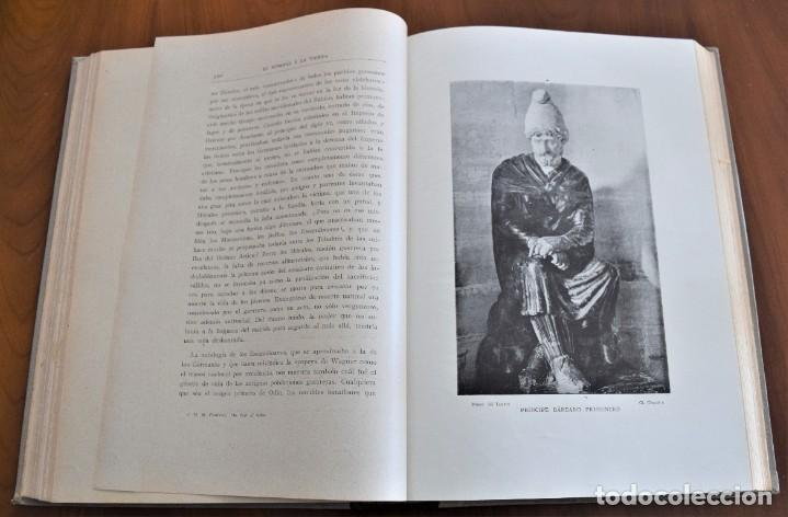 Libros antiguos: EL HOMBRE Y LA TIERRA - ELISEO RECLUS - CASA EDITORIAL MAUCCI, BARCELONA - 6 TOMOS COMPLETA - Foto 17 - 257650475