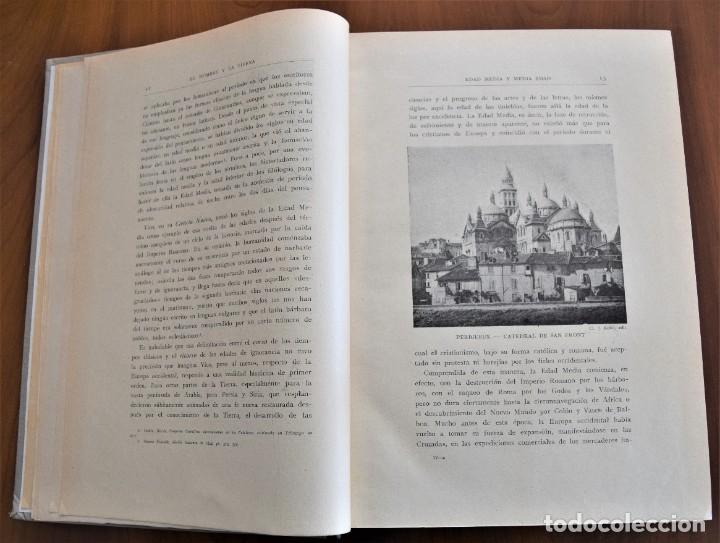 Libros antiguos: EL HOMBRE Y LA TIERRA - ELISEO RECLUS - CASA EDITORIAL MAUCCI, BARCELONA - 6 TOMOS COMPLETA - Foto 20 - 257650475