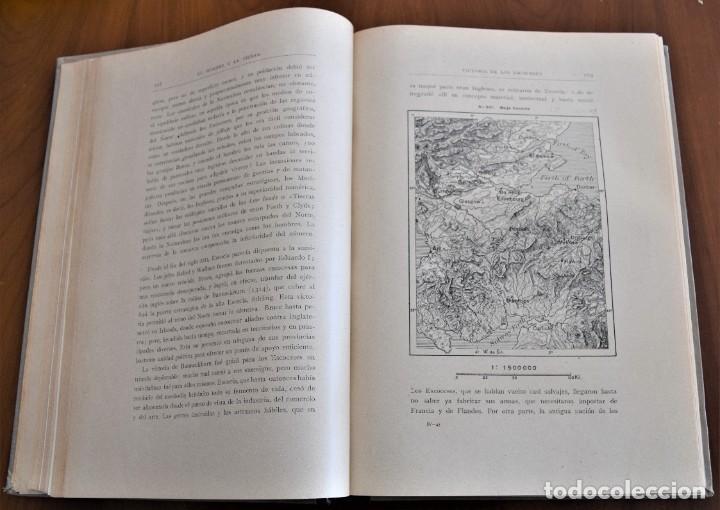 Libros antiguos: EL HOMBRE Y LA TIERRA - ELISEO RECLUS - CASA EDITORIAL MAUCCI, BARCELONA - 6 TOMOS COMPLETA - Foto 22 - 257650475