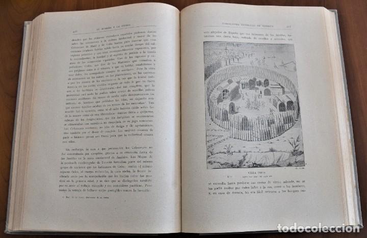 Libros antiguos: EL HOMBRE Y LA TIERRA - ELISEO RECLUS - CASA EDITORIAL MAUCCI, BARCELONA - 6 TOMOS COMPLETA - Foto 24 - 257650475