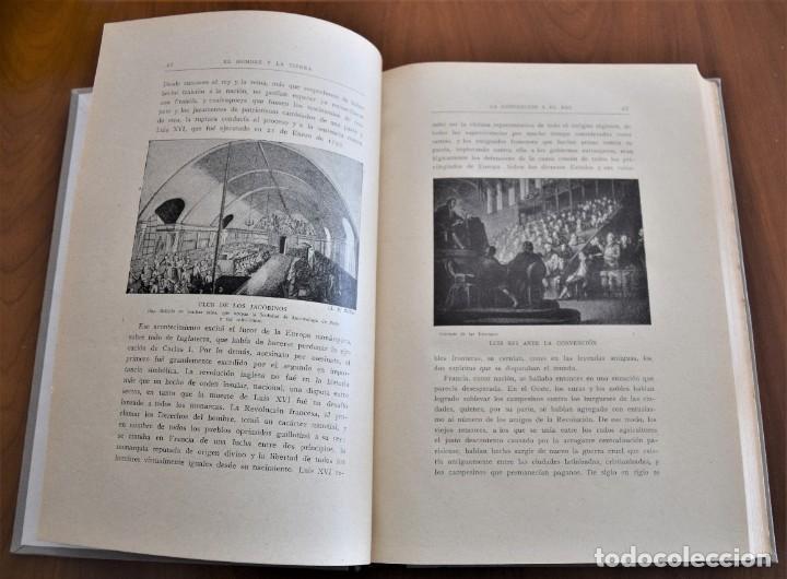 Libros antiguos: EL HOMBRE Y LA TIERRA - ELISEO RECLUS - CASA EDITORIAL MAUCCI, BARCELONA - 6 TOMOS COMPLETA - Foto 27 - 257650475