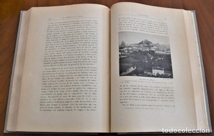 Libros antiguos: EL HOMBRE Y LA TIERRA - ELISEO RECLUS - CASA EDITORIAL MAUCCI, BARCELONA - 6 TOMOS COMPLETA - Foto 30 - 257650475