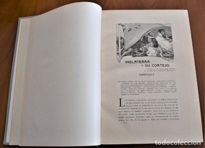 Libros antiguos: EL HOMBRE Y LA TIERRA - ELISEO RECLUS - CASA EDITORIAL MAUCCI, BARCELONA - 6 TOMOS COMPLETA - Foto 32 - 257650475
