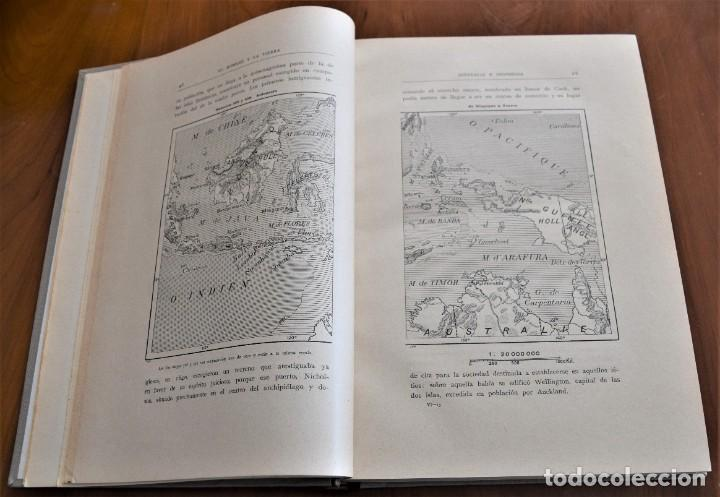 Libros antiguos: EL HOMBRE Y LA TIERRA - ELISEO RECLUS - CASA EDITORIAL MAUCCI, BARCELONA - 6 TOMOS COMPLETA - Foto 33 - 257650475