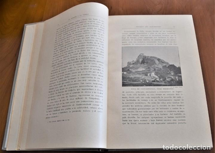 Libros antiguos: EL HOMBRE Y LA TIERRA - ELISEO RECLUS - CASA EDITORIAL MAUCCI, BARCELONA - 6 TOMOS COMPLETA - Foto 34 - 257650475