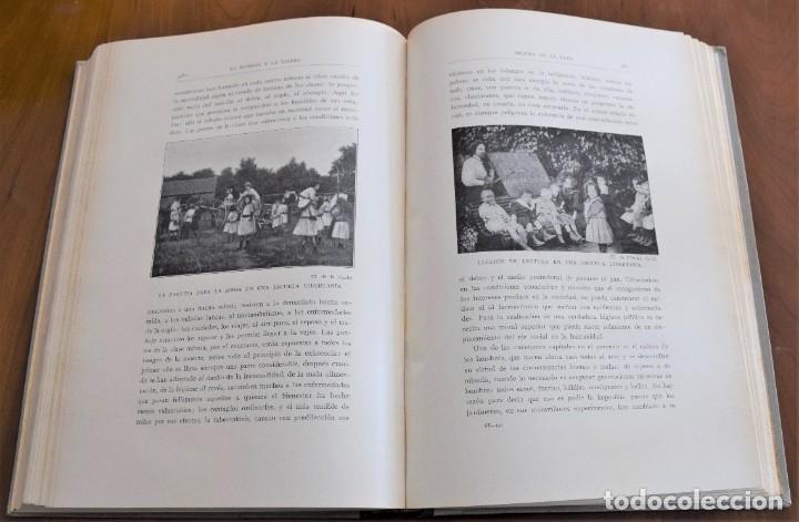Libros antiguos: EL HOMBRE Y LA TIERRA - ELISEO RECLUS - CASA EDITORIAL MAUCCI, BARCELONA - 6 TOMOS COMPLETA - Foto 37 - 257650475