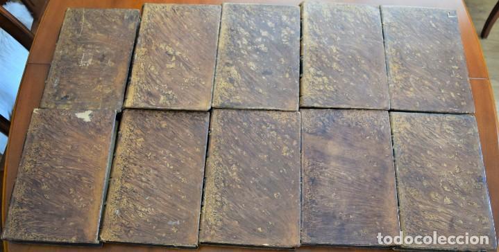 Libros antiguos: HISTORIA UNIVERSAL - CÉSAR CANTÚ - 1854 A 1859 - 10 TOMOS COMPLETA - MADRID, GASPAR Y ROIG EDITORES - Foto 2 - 257655180