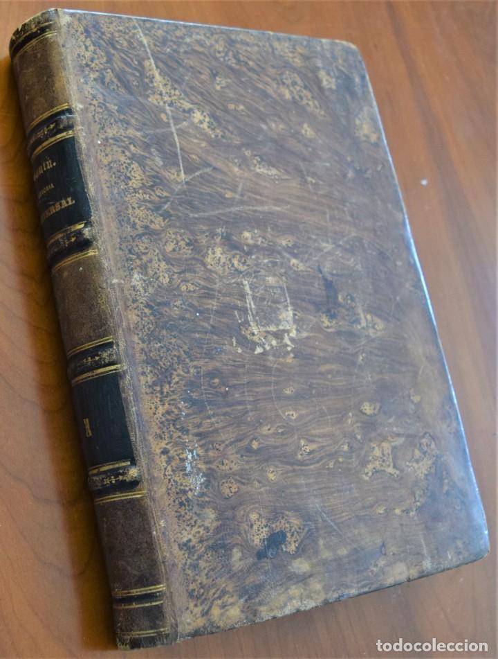 Libros antiguos: HISTORIA UNIVERSAL - CÉSAR CANTÚ - 1854 A 1859 - 10 TOMOS COMPLETA - MADRID, GASPAR Y ROIG EDITORES - Foto 3 - 257655180