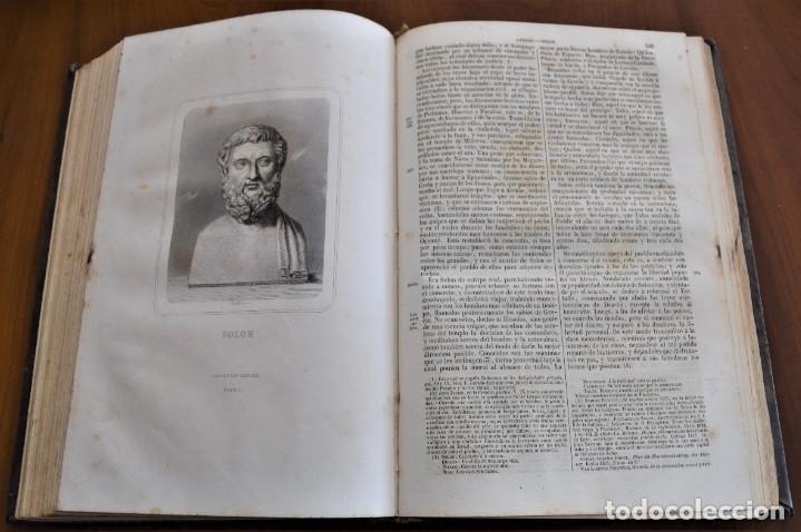Libros antiguos: HISTORIA UNIVERSAL - CÉSAR CANTÚ - 1854 A 1859 - 10 TOMOS COMPLETA - MADRID, GASPAR Y ROIG EDITORES - Foto 9 - 257655180