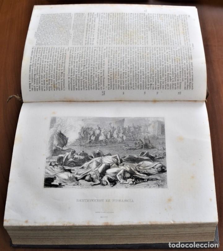 Libros antiguos: HISTORIA UNIVERSAL - CÉSAR CANTÚ - 1854 A 1859 - 10 TOMOS COMPLETA - MADRID, GASPAR Y ROIG EDITORES - Foto 16 - 257655180