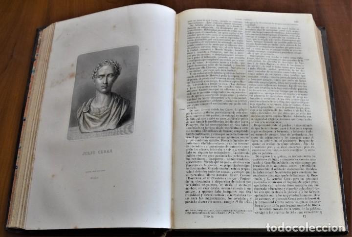 Libros antiguos: HISTORIA UNIVERSAL - CÉSAR CANTÚ - 1854 A 1859 - 10 TOMOS COMPLETA - MADRID, GASPAR Y ROIG EDITORES - Foto 17 - 257655180