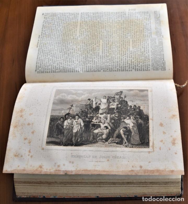 Libros antiguos: HISTORIA UNIVERSAL - CÉSAR CANTÚ - 1854 A 1859 - 10 TOMOS COMPLETA - MADRID, GASPAR Y ROIG EDITORES - Foto 18 - 257655180
