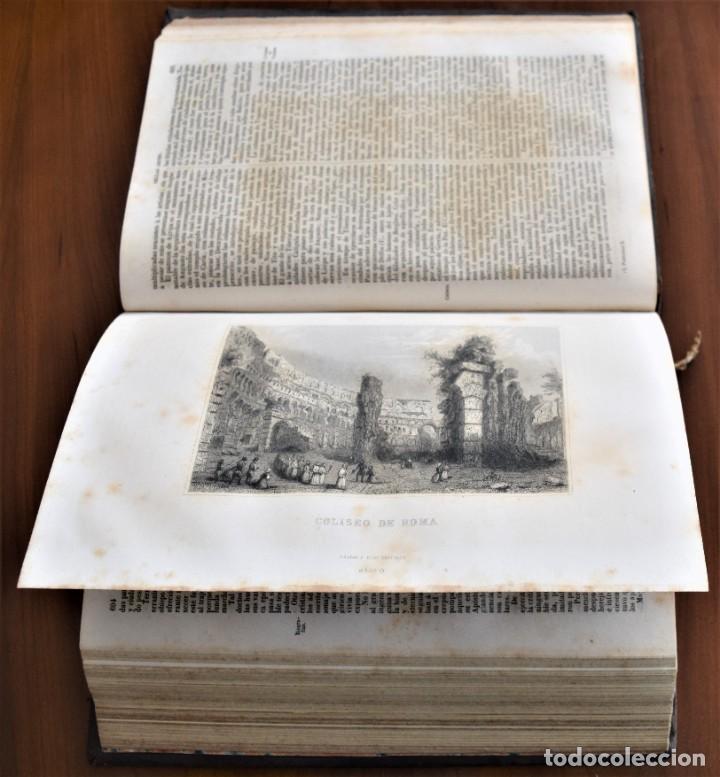 Libros antiguos: HISTORIA UNIVERSAL - CÉSAR CANTÚ - 1854 A 1859 - 10 TOMOS COMPLETA - MADRID, GASPAR Y ROIG EDITORES - Foto 21 - 257655180