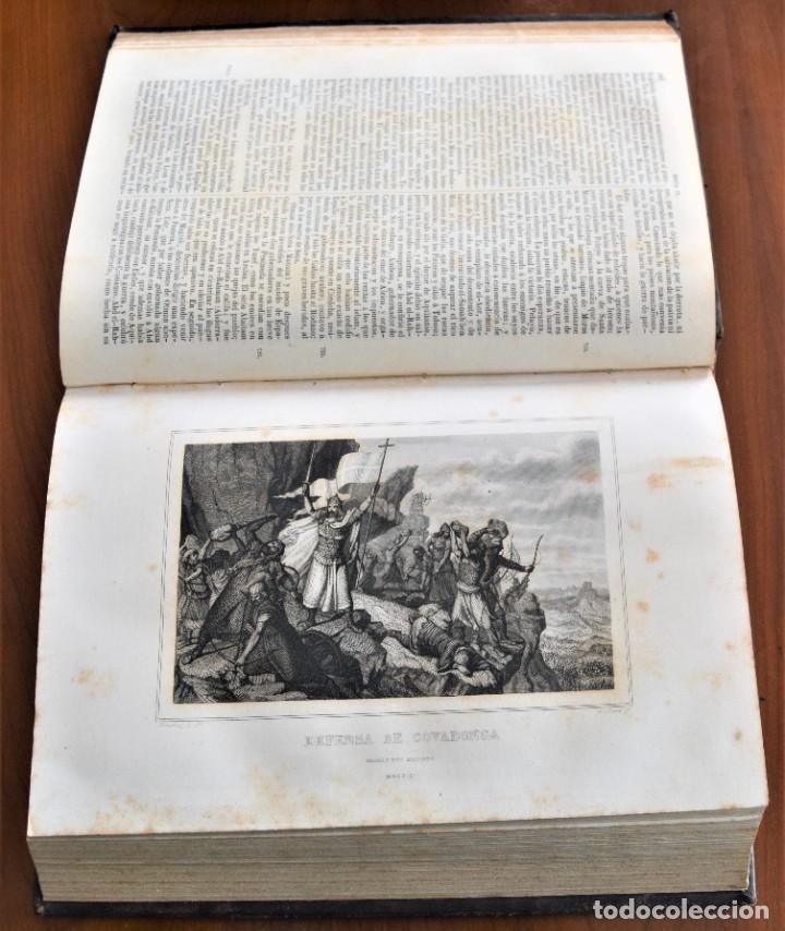 Libros antiguos: HISTORIA UNIVERSAL - CÉSAR CANTÚ - 1854 A 1859 - 10 TOMOS COMPLETA - MADRID, GASPAR Y ROIG EDITORES - Foto 26 - 257655180