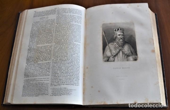 Libros antiguos: HISTORIA UNIVERSAL - CÉSAR CANTÚ - 1854 A 1859 - 10 TOMOS COMPLETA - MADRID, GASPAR Y ROIG EDITORES - Foto 27 - 257655180
