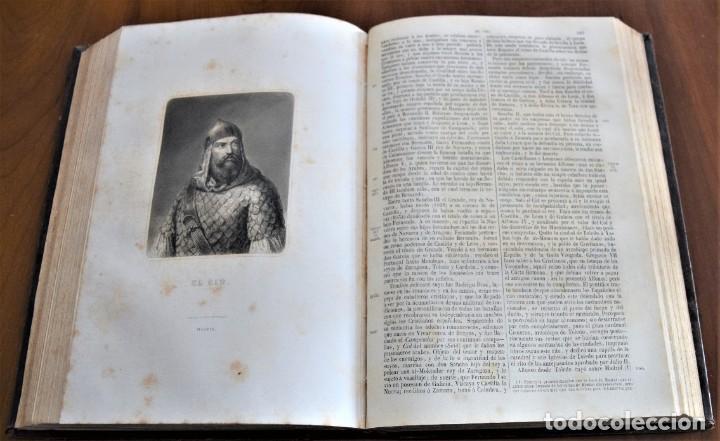 Libros antiguos: HISTORIA UNIVERSAL - CÉSAR CANTÚ - 1854 A 1859 - 10 TOMOS COMPLETA - MADRID, GASPAR Y ROIG EDITORES - Foto 28 - 257655180