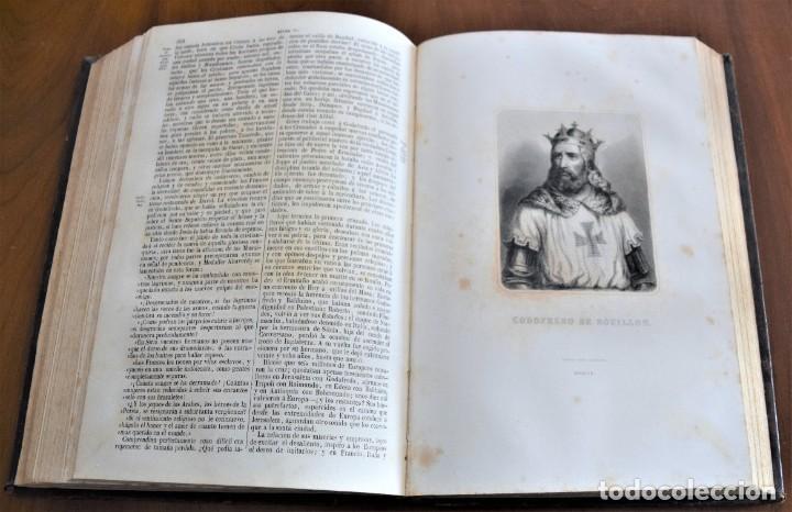 Libros antiguos: HISTORIA UNIVERSAL - CÉSAR CANTÚ - 1854 A 1859 - 10 TOMOS COMPLETA - MADRID, GASPAR Y ROIG EDITORES - Foto 29 - 257655180