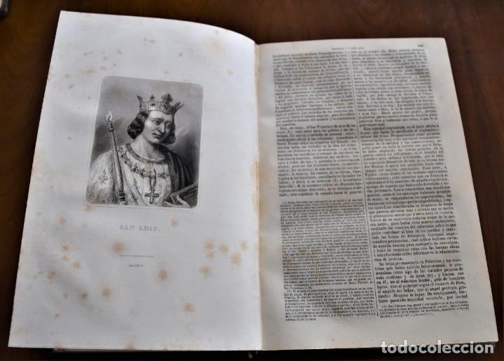 Libros antiguos: HISTORIA UNIVERSAL - CÉSAR CANTÚ - 1854 A 1859 - 10 TOMOS COMPLETA - MADRID, GASPAR Y ROIG EDITORES - Foto 33 - 257655180