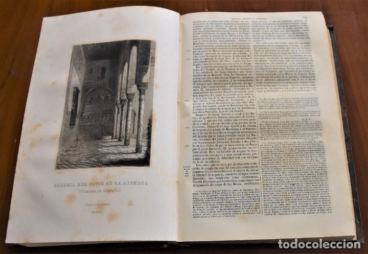 Libros antiguos: HISTORIA UNIVERSAL - CÉSAR CANTÚ - 1854 A 1859 - 10 TOMOS COMPLETA - MADRID, GASPAR Y ROIG EDITORES - Foto 35 - 257655180