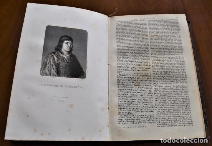 Libros antiguos: HISTORIA UNIVERSAL - CÉSAR CANTÚ - 1854 A 1859 - 10 TOMOS COMPLETA - MADRID, GASPAR Y ROIG EDITORES - Foto 36 - 257655180