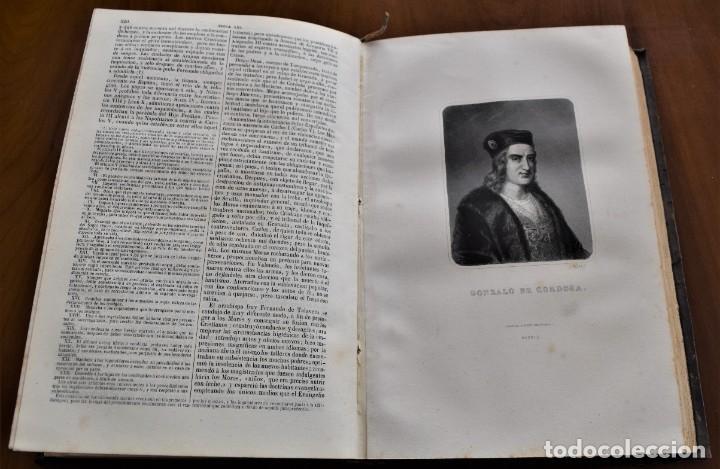 Libros antiguos: HISTORIA UNIVERSAL - CÉSAR CANTÚ - 1854 A 1859 - 10 TOMOS COMPLETA - MADRID, GASPAR Y ROIG EDITORES - Foto 37 - 257655180
