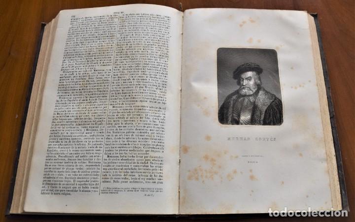 Libros antiguos: HISTORIA UNIVERSAL - CÉSAR CANTÚ - 1854 A 1859 - 10 TOMOS COMPLETA - MADRID, GASPAR Y ROIG EDITORES - Foto 38 - 257655180