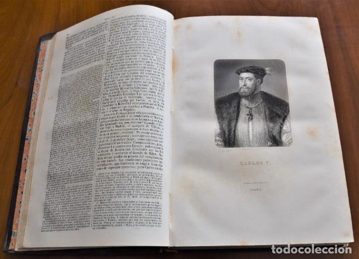 Libros antiguos: HISTORIA UNIVERSAL - CÉSAR CANTÚ - 1854 A 1859 - 10 TOMOS COMPLETA - MADRID, GASPAR Y ROIG EDITORES - Foto 42 - 257655180