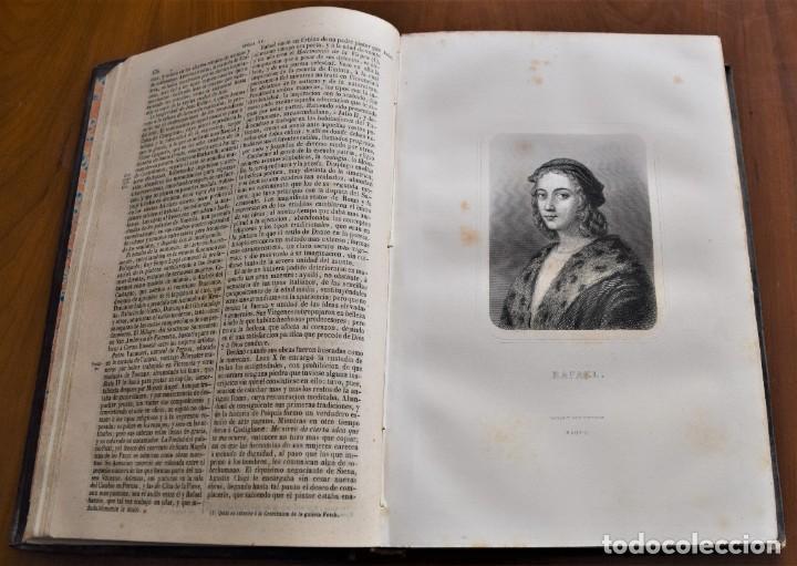 Libros antiguos: HISTORIA UNIVERSAL - CÉSAR CANTÚ - 1854 A 1859 - 10 TOMOS COMPLETA - MADRID, GASPAR Y ROIG EDITORES - Foto 43 - 257655180