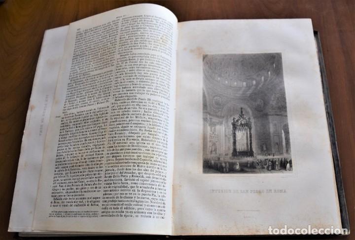 Libros antiguos: HISTORIA UNIVERSAL - CÉSAR CANTÚ - 1854 A 1859 - 10 TOMOS COMPLETA - MADRID, GASPAR Y ROIG EDITORES - Foto 44 - 257655180