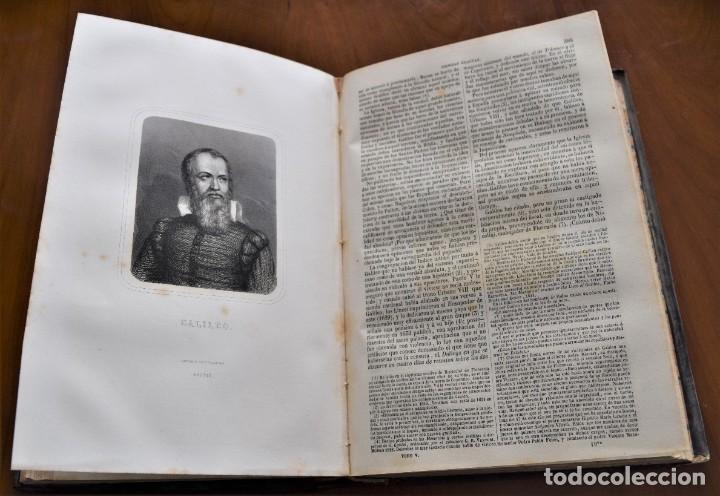 Libros antiguos: HISTORIA UNIVERSAL - CÉSAR CANTÚ - 1854 A 1859 - 10 TOMOS COMPLETA - MADRID, GASPAR Y ROIG EDITORES - Foto 45 - 257655180