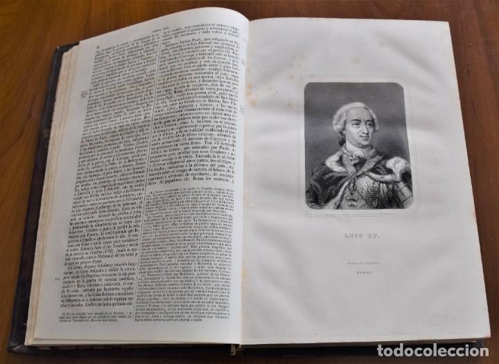 Libros antiguos: HISTORIA UNIVERSAL - CÉSAR CANTÚ - 1854 A 1859 - 10 TOMOS COMPLETA - MADRID, GASPAR Y ROIG EDITORES - Foto 50 - 257655180