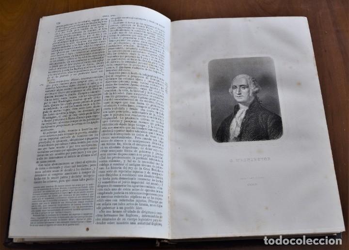 Libros antiguos: HISTORIA UNIVERSAL - CÉSAR CANTÚ - 1854 A 1859 - 10 TOMOS COMPLETA - MADRID, GASPAR Y ROIG EDITORES - Foto 51 - 257655180