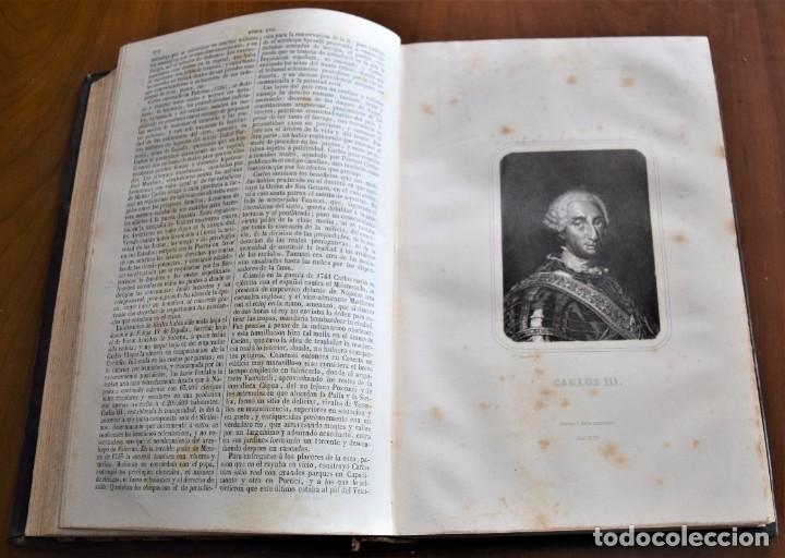 Libros antiguos: HISTORIA UNIVERSAL - CÉSAR CANTÚ - 1854 A 1859 - 10 TOMOS COMPLETA - MADRID, GASPAR Y ROIG EDITORES - Foto 52 - 257655180