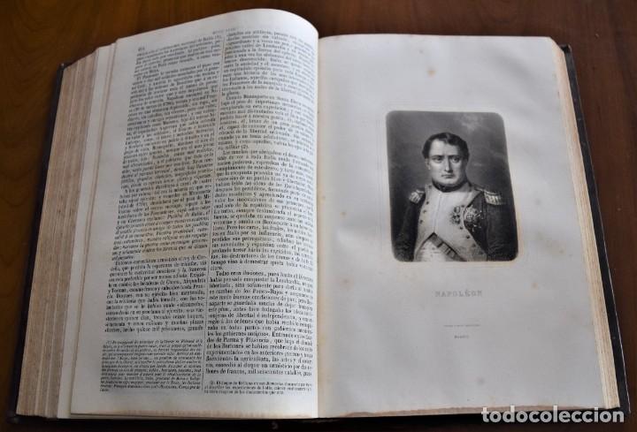 Libros antiguos: HISTORIA UNIVERSAL - CÉSAR CANTÚ - 1854 A 1859 - 10 TOMOS COMPLETA - MADRID, GASPAR Y ROIG EDITORES - Foto 53 - 257655180